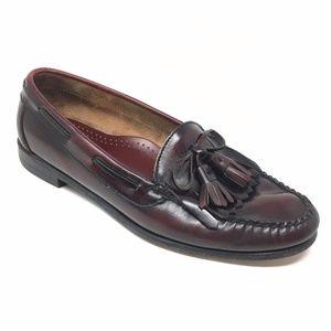 Men's Cole Haan Loafers Dress Size 9EE Burgundy